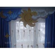 Пошив штор, гардин, ламбрекенов. фото
