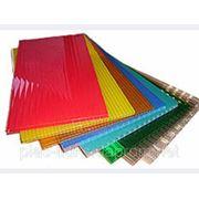 Поликарбонат сотовый прозрачный,цветной  4мм -32мм