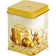 Баночка для чая «Новогодние шарики».
