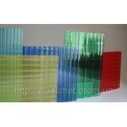Полікарбонат nikamax.Прозорий,бронза, опал, червоний, синій, зелений 10 мм