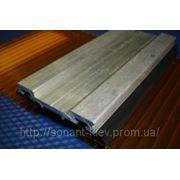 Профиль поликарбонатный соединительный алюминиевый прижимной HP фото
