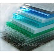 Поликарбонат сотовый SUNNEX 6 мм (цветной) фото