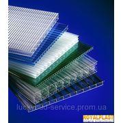 Поликарбонат сотовый ROYALPLAST 6 мм (цветной) фото