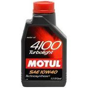 Моторное масло MOTUL 4100 Turbolight 1л. полусинтетика фото