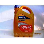 Масло моторное полу синтетика юкойл динамик 10W40 4л фото