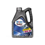 MOBIL SUPER 10W-40 полусинтетическое масло 4л