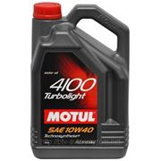 Motul 4100 Turbolight 10W-40 4L фото