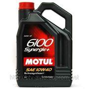 Motul 6100 Synergie+ 10W-40 4L фото