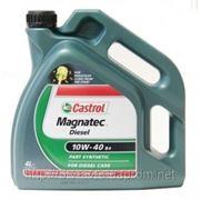 Масло моторное дизель Castrol Magnatec Diesel 10w40 B3 4L фото