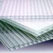Поликарбонат прозрачный сотовый фото