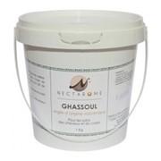 Гассул, обогащенный 7 травами (марокканская вулканическая глина). Для салонов, 1 кг. фото