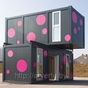 Блок контейнер - модульные здания фото