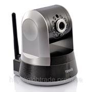 Беспроводной купольная IP-Камера PTZ контроль
