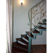 Лестницы металлические фотография