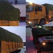 Полога брезентовые для укрытия транспортируемых грузов фото