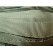 Тесьма брючная 25м Беларусь серый светлый фото