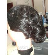 Прическа вечерняя Волны на длинные волосы от мастера Янины фото