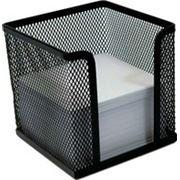 Куб под бумаги для заметок металлический сетка