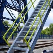 Лестница металлическая, фото