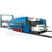 Флексо-принтер-слотер для произодства гофротары XT-D и тары из картона фото