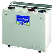 Приточно-вытяжная установка с рекуперацией тепла Komfovent Domekt Recu 400VECF, пластинчатый рекуператор фото