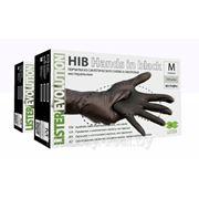 Перчатки НИТРИЛ, черные, размер «M» 100шт. (50 пар) фото