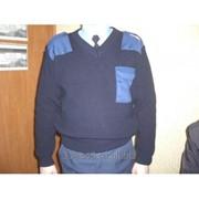 Свитер охранника, V- горло, и с обычным круглым фото