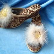 Обувь женская комнатная фото