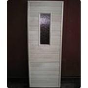дверь осиновая с коробкой для бань и саун