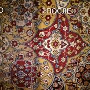 Химчистка мебели, ковров фото