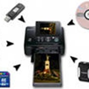 Печать фотографий с цифровых носителей фото