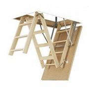 Лестница FAKRO LWS PLUS размер 70х120х 280 фото