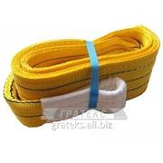 Строп текстильный петлевой /СТП/ грузоподъемность 3,0т длина 4,0м фото