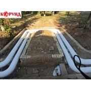 Корунд сверхтонкий материал теплоизоляции трубопроводов пара горячей воды водонагревательного оборудования котельных и запорной арматуры фото