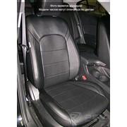 Чехлы Mazda 3 13 S чер-бел эко-кожа Оригинал фото