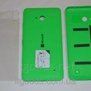 Крышка задняя зеленая для Microsoft Lumia 640 + ПЛЕНКА В ПОДАРОК 4149 фото