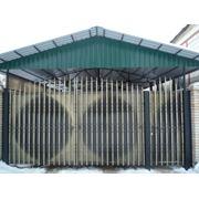 Ворота комплектующие балясинами фото