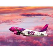 Авиарейсы компании Wizz Air!