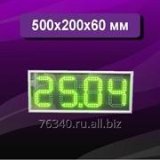 Часы электронные 500х200 мм фото