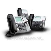 IP АТС Oktell в аренду. 17 внешних линий, 40 внутренних абонентов