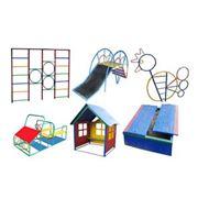 Уличное игровое оборудование для детских садов и площадок фото