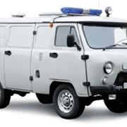Автомобиль для перевозки заключенных на базе автомобиля UAZ 3741 фото