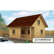 Каркасный дом. Проект №10 (7.5х6 м) фото