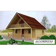 Каркасный дом. Проект №16 (8х7.5 м) фото