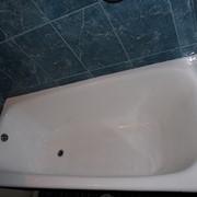 Реставрация ванн с помощью наливного акрила фото