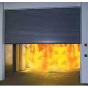 Монтаж ворота противопожарные фото