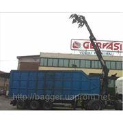 Продаем самосвальный полуприцеп-ломовоз, с краном и грейфером фото