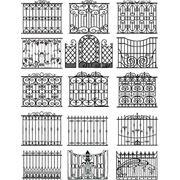 Ворота калитки кованые купить заказать цена фото Сумы Украина фото