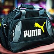 Спортивная сумка PUMA среднего размера 42х17х30см черная фото