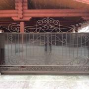 Ворота откатные 2 фото